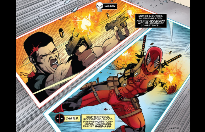 Bullet to the Brain:  Deadpool Versus The Punisher #1 Review
