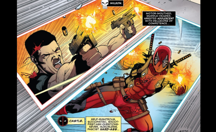 Bullet to the Brain:  Deadpool Versus The Punisher #1Review